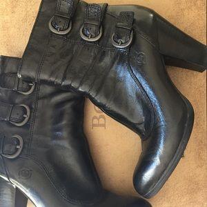 Born Vivi Black Dress Booties